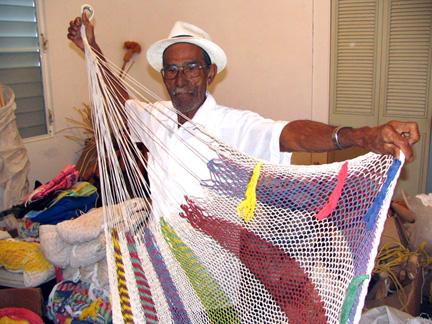 Alejandro Puerto Rican Artesan Hammock Maker