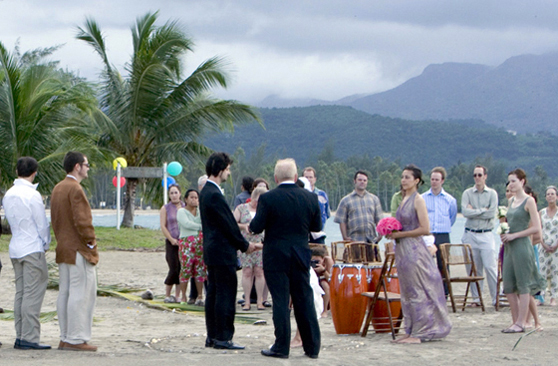 beach wedding in Luquillo Puerto Rico