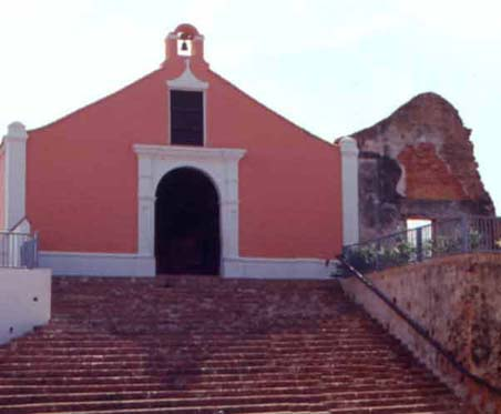 Porta Coeli church/museum in San German Puerto Rico